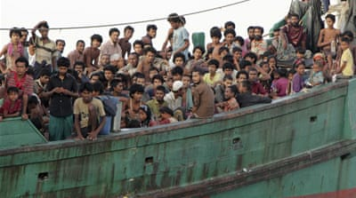 Myanmar seizes boat with 93 Rohingya fleeing to Malaysia