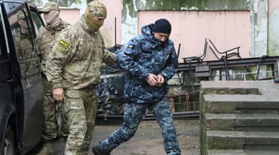 Ukraine's first-ever martial law comes into effect
