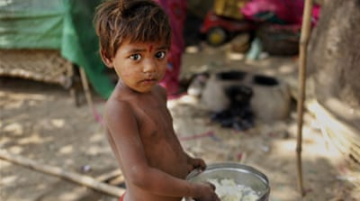 One-third of world's stunted children live in India: report