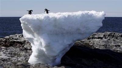 Greenland's ice melting rate reaching 'tipping point'