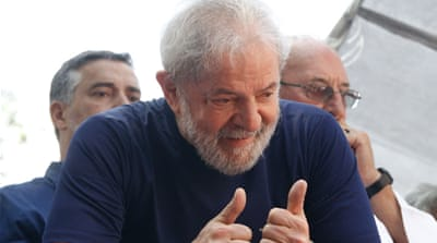 Ex-Brazil President Lula calls for release, accuses judge of bias