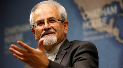 Seyed M Kazem Sajjadpour said Iran will win the mental challenge the renewed sanctions pose  [Henry Nicholls/Reuters]