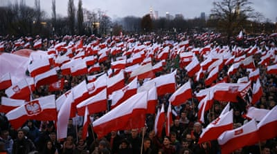 Warsaw mayor bans far-right Independence Day march