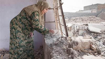Mosul residents left to rebuild destroyed homes