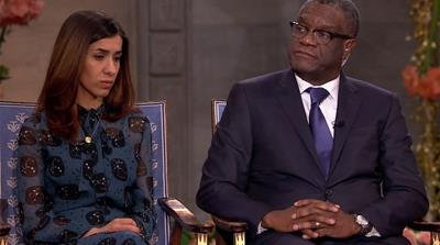 The Nobel Interview: Nadia Murad and Denis Mukwege