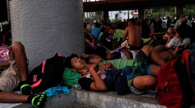 Thousands of Central Americans await refugee status in Mexico