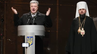 Ukraine creates new Orthodox church independent from Russia