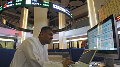 Saudi stocks plummet, Dubai index rebounds from worst day
