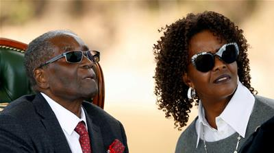 South Africa police issue arrest warrant for Grace Mugabe