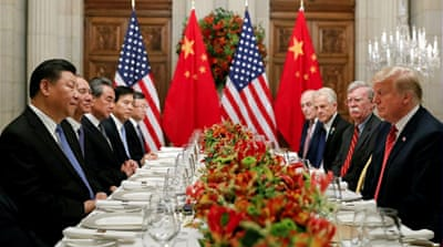 US, China declare trade war ceasefire after Trump-Xi summit