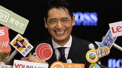 Hong Kong actor Chow Yun-fat vows to donate his entire fortune