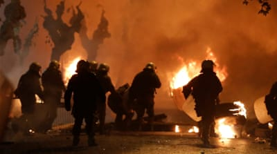 Angry protests on anniversary of Greek teen's police shooting