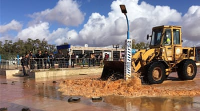 Benghazi airport closed as heavy rain triggers flooding