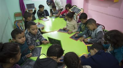 The kindergarten giving hope to refugees in Morocco