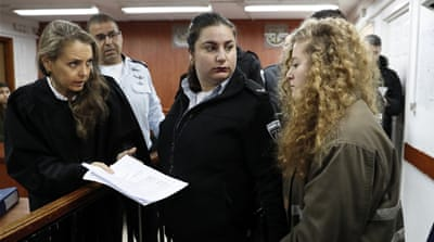Ahed Tamimi's trial gets under way behind closed doors