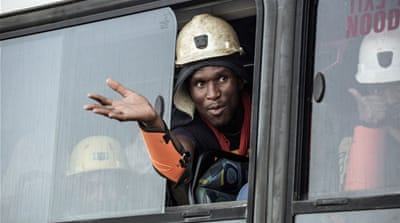 South Africa unions demand answers after miners trapped