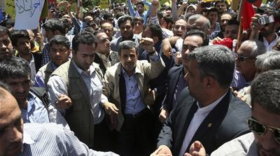Iran's Ahmadinejad: From populist president to oppositionist