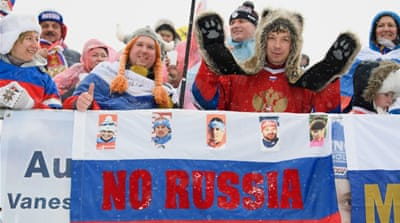 IOC: No Russian flag at Winter Olympics closing march