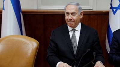 Israeli PM Netanyahu 'cannot cling on to power much longer'