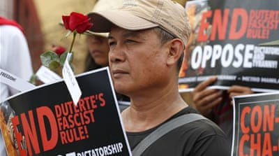 Philippines: Marcos ouster rally targets 'dictator' Duterte