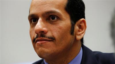 Qatar FM calls for an end to the Saudi-led blockade