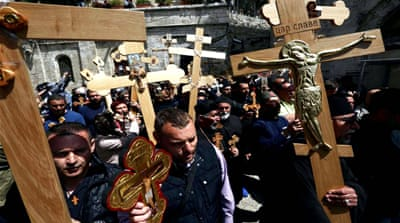 Are Christians being targeted in Jerusalem?