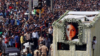 Sridevi funeral: Fans, actors pay last respects to superstar