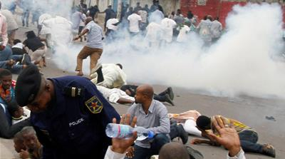 DRC minister: Police 'didn't kill any protester'