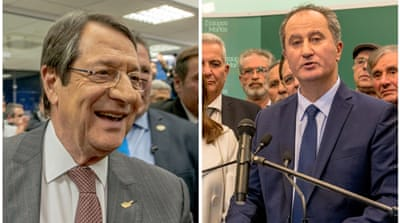 Cyprus election: Anastasiades faces Malas in runoff