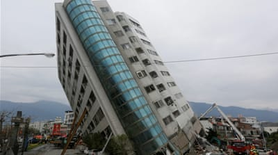 Taiwan quake: Death toll rises, 7 left missing