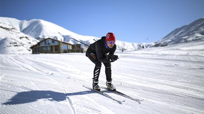 Iran's female skier blazes a trail to Pyeongchang