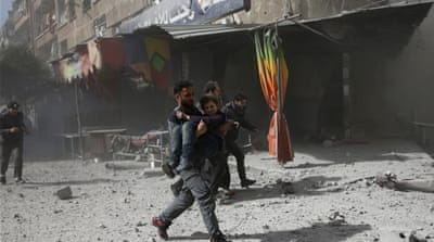 East Ghouta reels under intense Russian, Syrian bombing