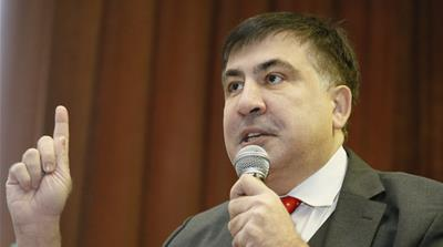 Ukraine stripped Saakashvili of his citizenship in July 2017, rendering him stateless [File: Valentyn Ogirenko/Reuters]