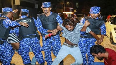 What's going on in the Maldives?