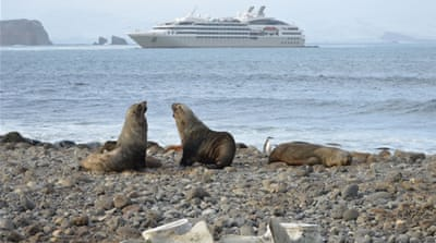 Antarctica tourism growing steadily, posing potential ecological threat