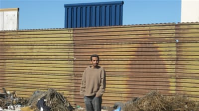 Living in the shadow of Trump's border wall prototypes
