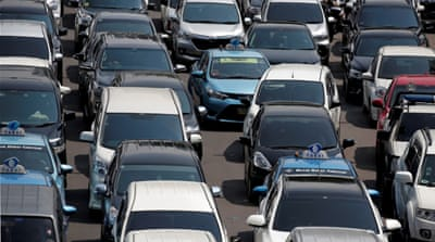 Jakarta enforces odd-even traffic policy to counter jams