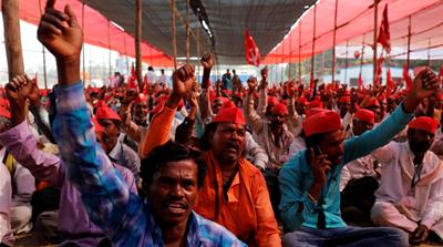 A 'long march' by India's farmers forces government to act
