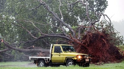 Tropical Cyclone Marcus slams parts of Australia
