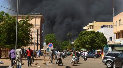 Burkina Faso: Army headquarters and French embassy attacked