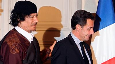 France's Nicolas Sarkozy held over Gaddafi funding claims