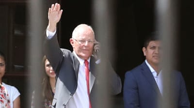 Martin Vizcarra sworn in as Peru's president