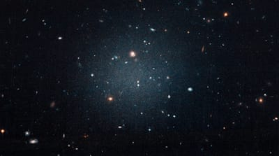 Astronomers discover 'impossible' galaxy without dark matter