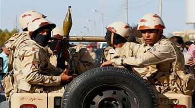 Egypt's military operation displaces residents in Sinai Peninsula