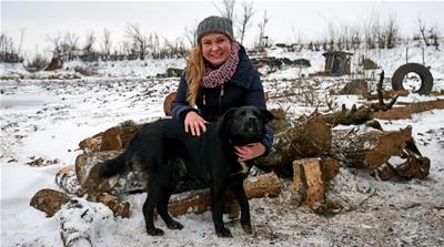 Ukraine: A female fixer on the front lines