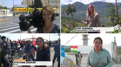 What challenges do female journalists face?