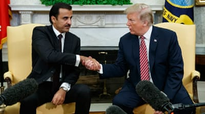 Trump: US-Qatar ties 'work extremely well'