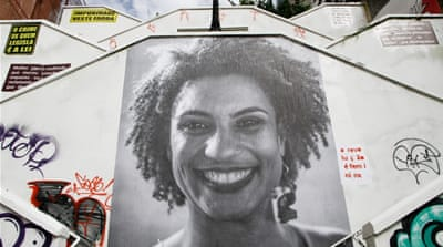 Brazil: Two ex-policemen arrested over murder of Marielle Franco