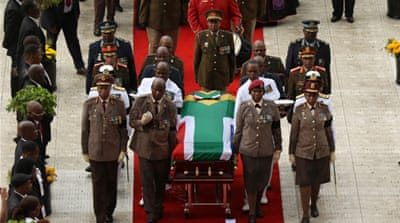 South Africa's Winnie Mandela laid to rest