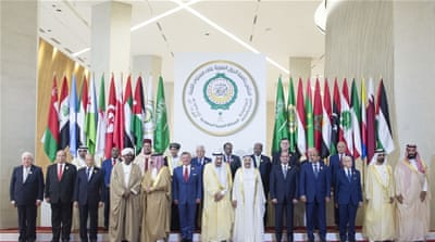 Arab leaders mute on Syria strikes at Saudi summit